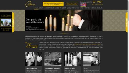 Compania de servicii funerare Anthony - din 1992 in domeniul de pompe funebre